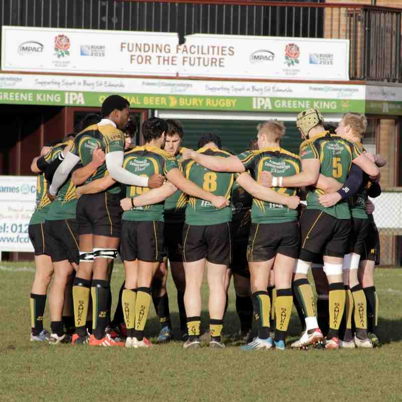 Bury Vs 1st XV Development Squad 24/01/15