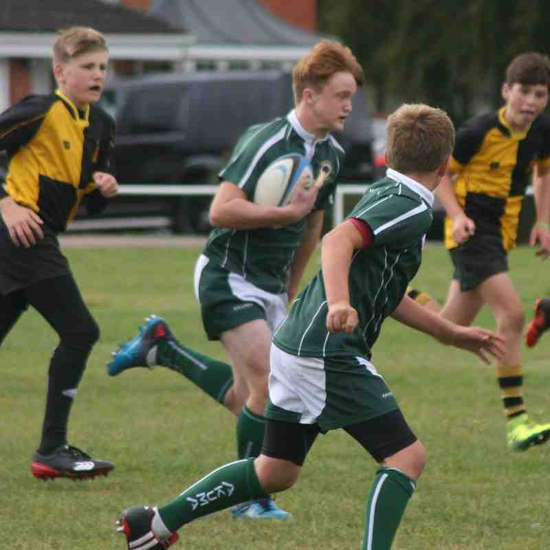 U13 SWRFC vs U13 Braintree RFC