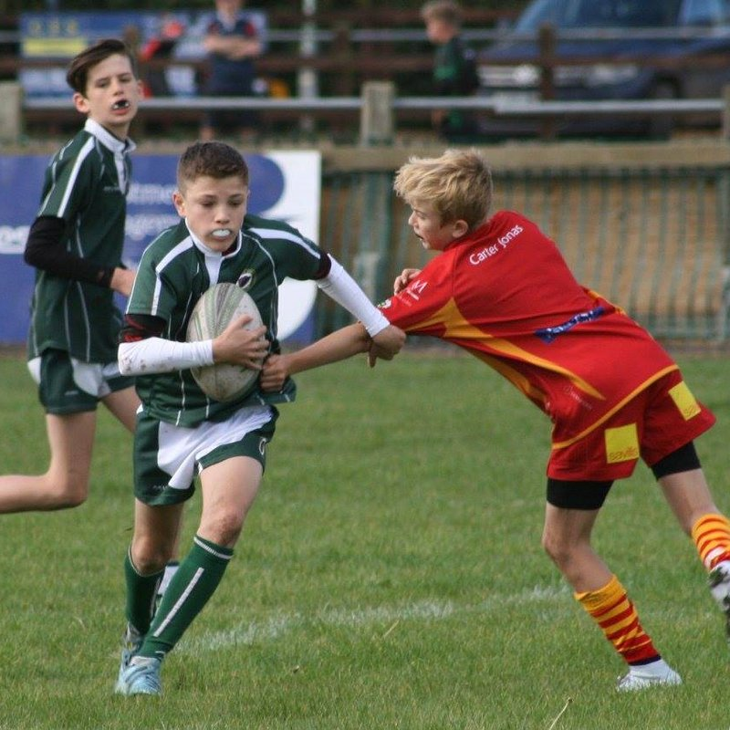 Under 14's beat St Ives - County Cup 17 - 34