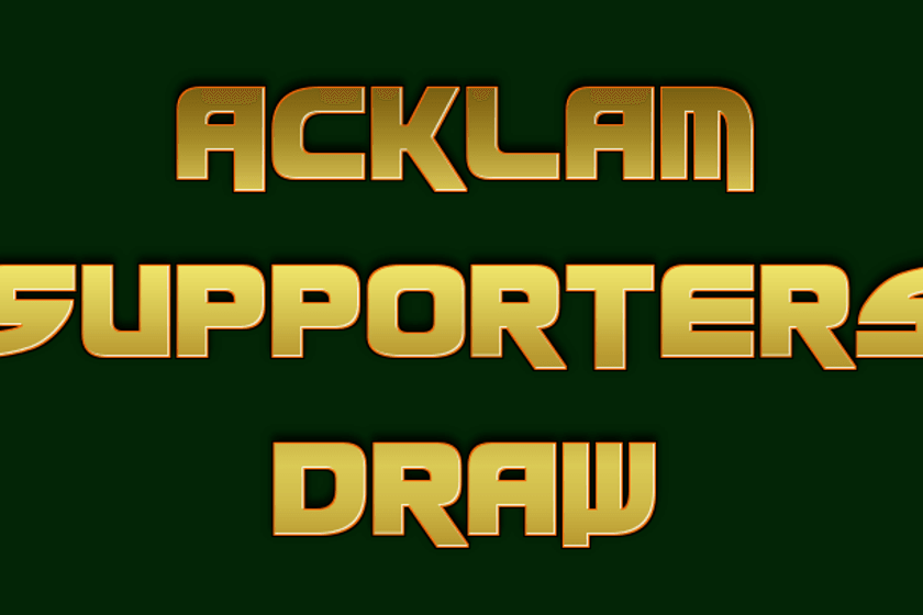 Acklam Supporters Draw - November