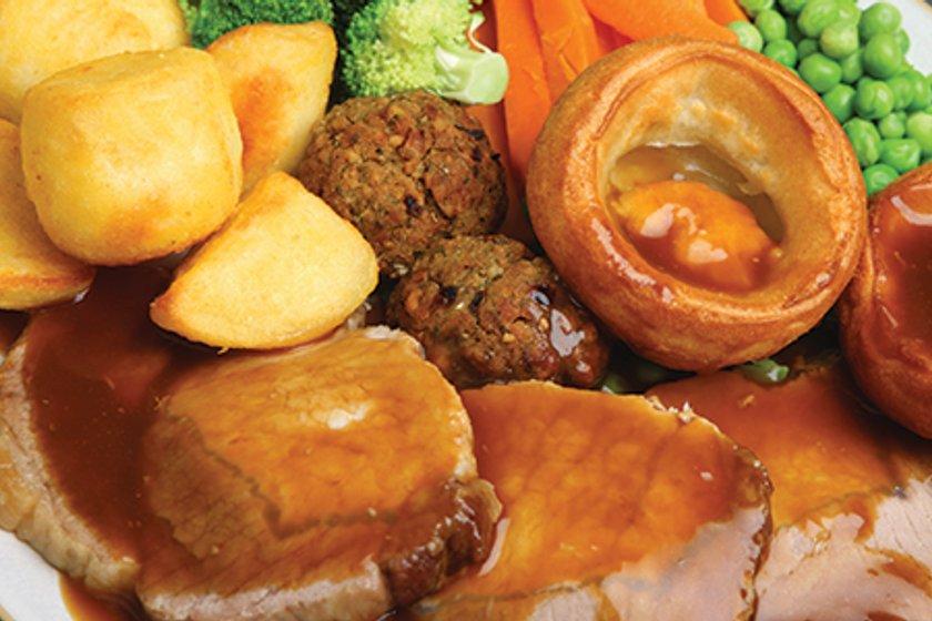 England & Sunday Dinner!