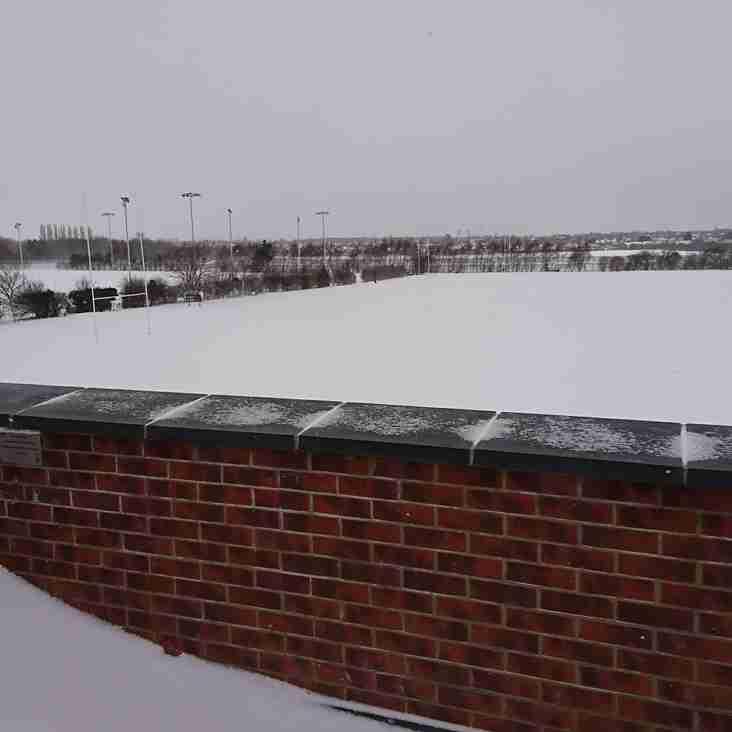 Training is a snow-go :-(