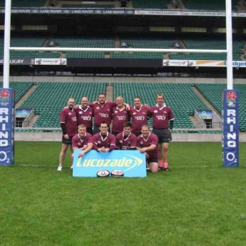 Lucozade Sport Sevens Performance Day at Twickenham on Friday 8th June 2012.