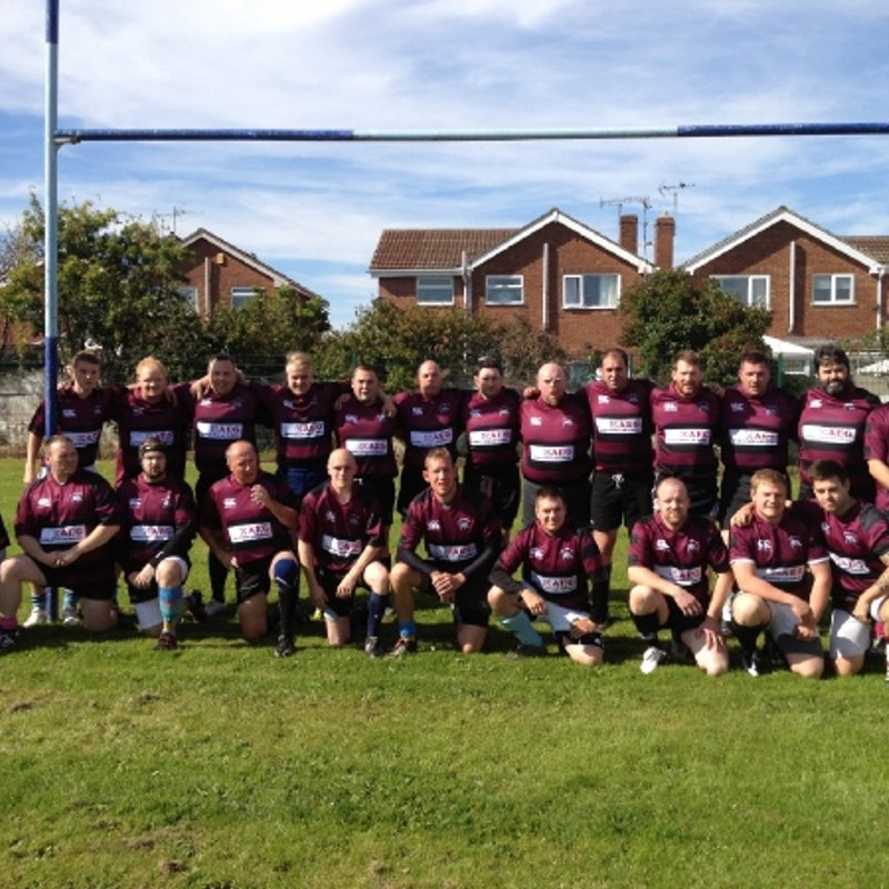Belper 2nd XV 31 - 31 Ripley Rhinos RFC