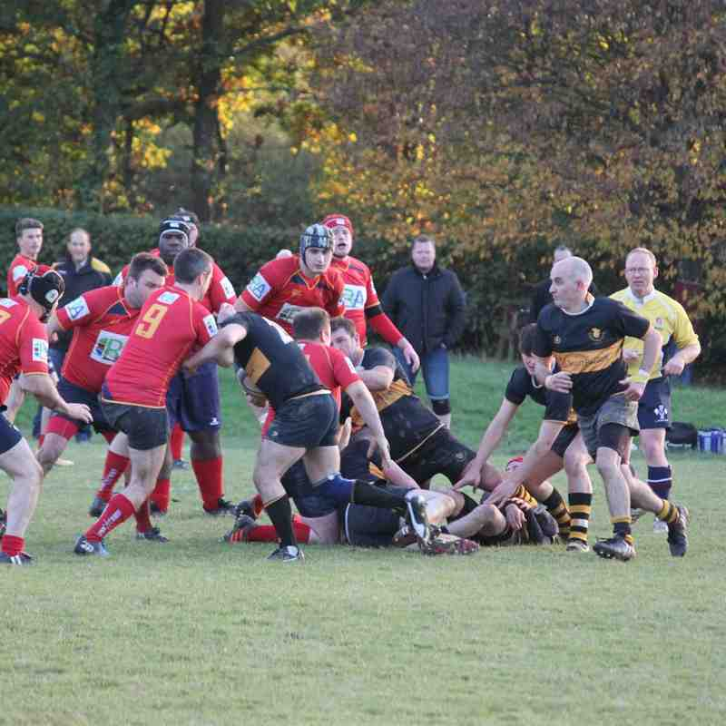 Cranleigh 2nd XV vs Camberley 3rd XV