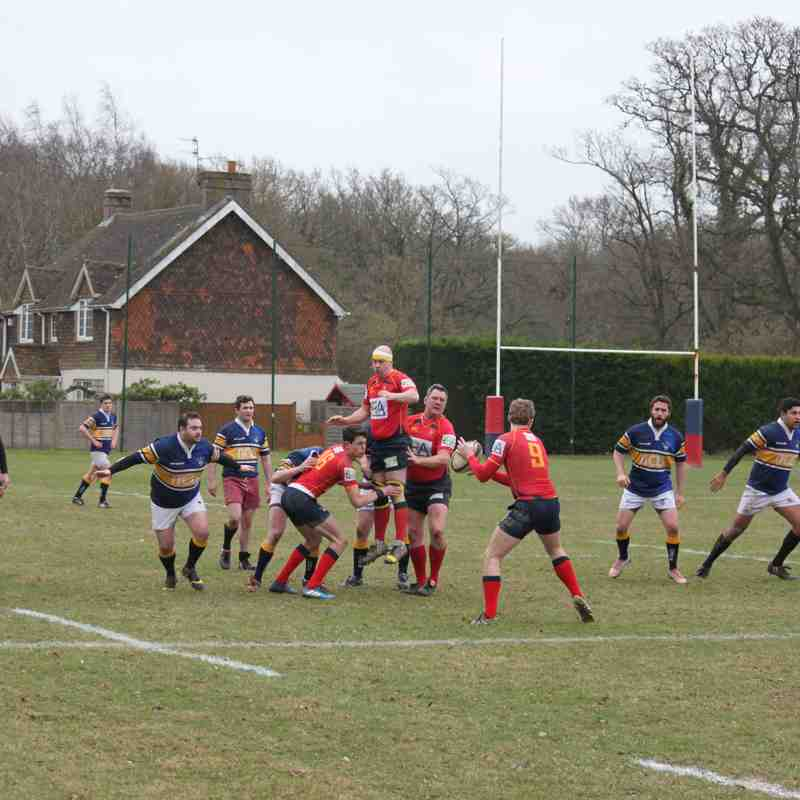 Cranleigh 1st XV v Bec Old Boys (Surrey Shield)