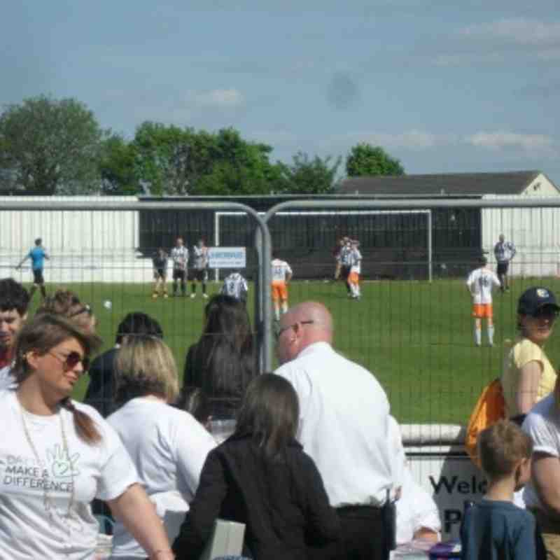 Jamie Walker charity match 3