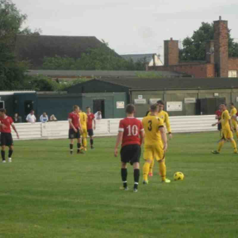 Shirebrook Town, away, 08-07-14