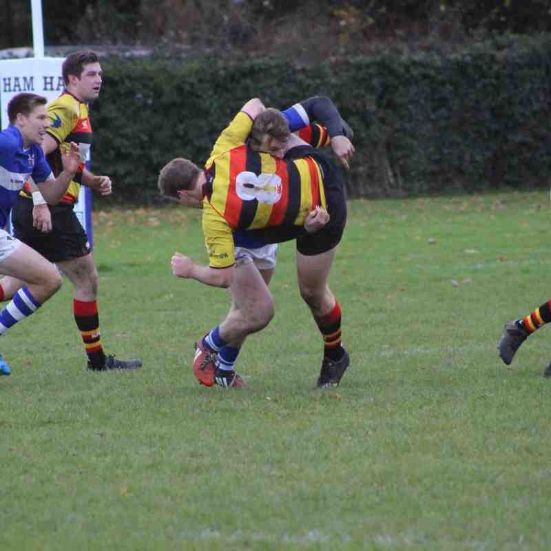 Mitres vs Richmond Normans 25/11/17