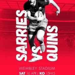 Saracens v Harlequins @ Wembley