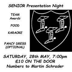 Senior Awards 28th May