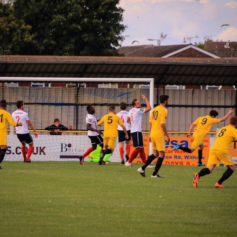 Witham Town Fc 1   v   2 POTTERS BAR TOWN FC