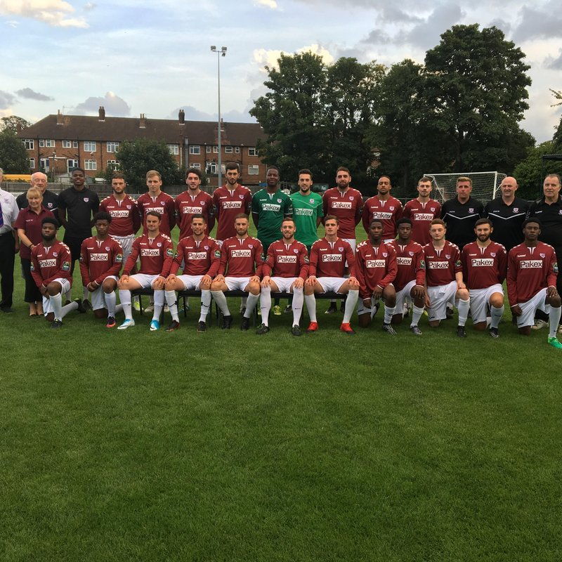 New faces at Potters Bar Town Fc