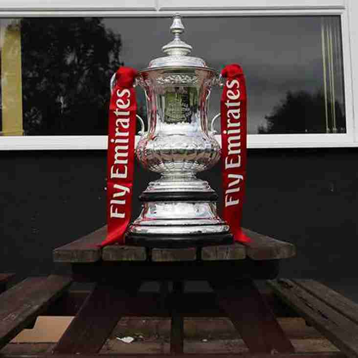 NEXT HOME MATCH - Emirates FA Cup Replay - Tuesday 19th September - 7.45 kick off