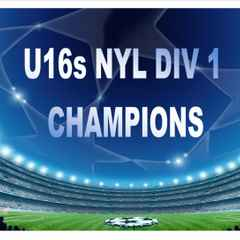 U16 NYL CHAMPIONS