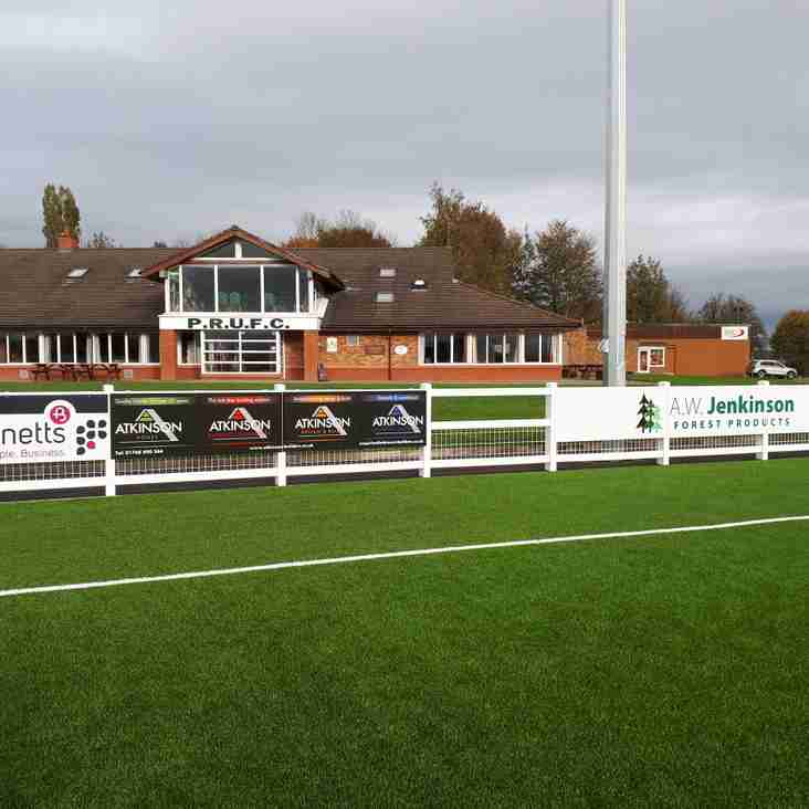 Penrith RUFC - Artificial Grass Pitch Advertising Boards