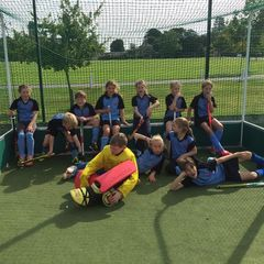 THC U10s squad compete at the Witney Hockey Festival 2