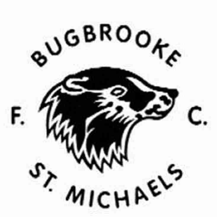 Bugbrooke Are Champions!