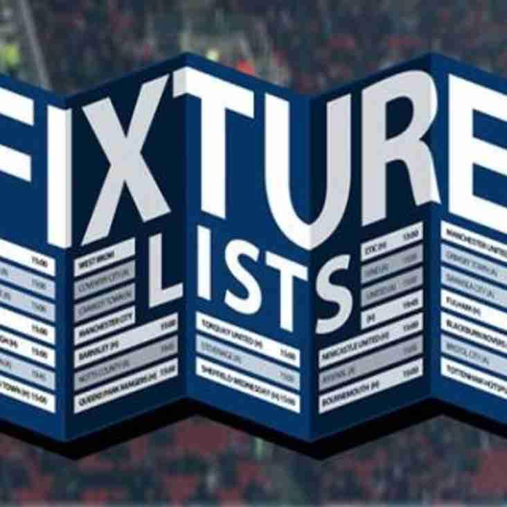 Fixtures Updated.....