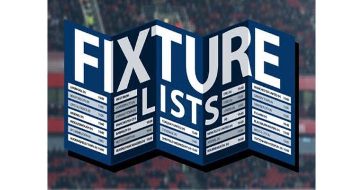 Fixture Re-Arrangements.... - The Vanarama National League