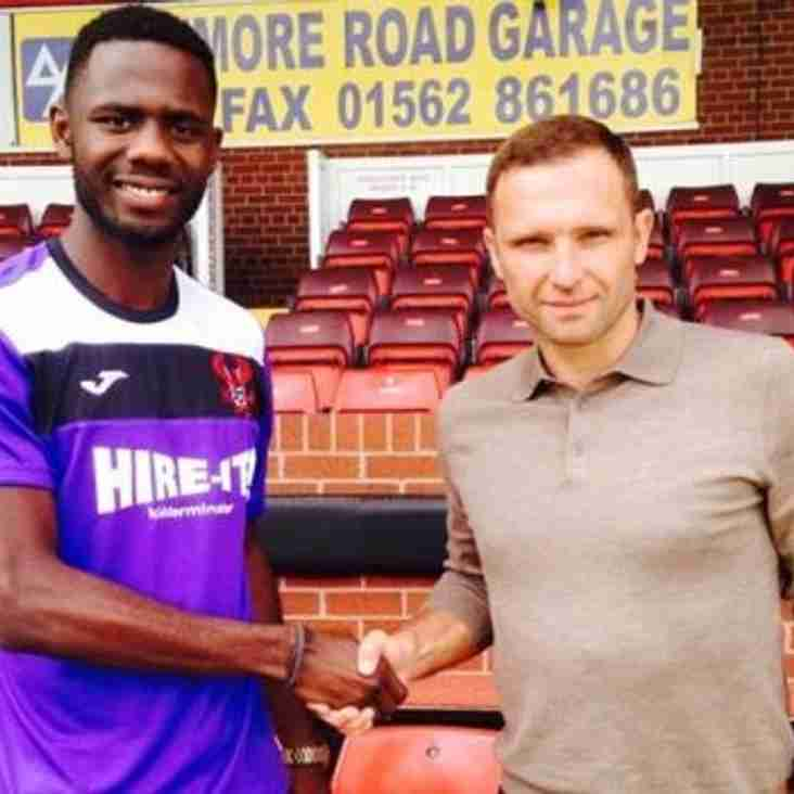 New Striker for Harriers