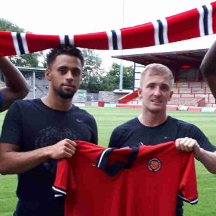 FC United Take Five New Signings To Ireland