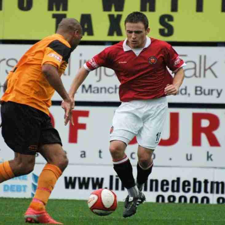 Stalwart Wolfenden Departs FC United