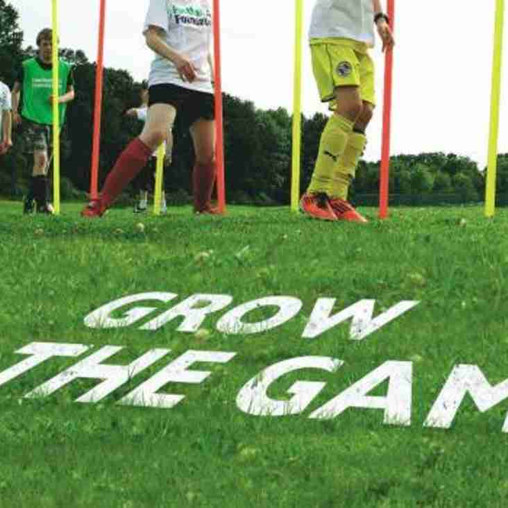 Eastleigh Receive `Grow the Game` Grant
