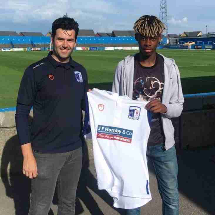 Barrow Sign Young Frenchman