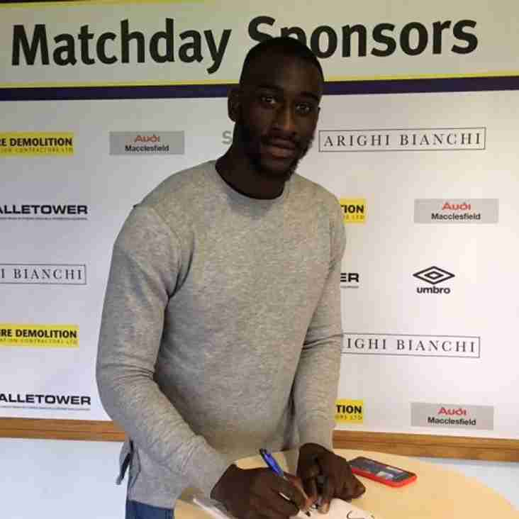 French Striker Earns Silkmen Deal