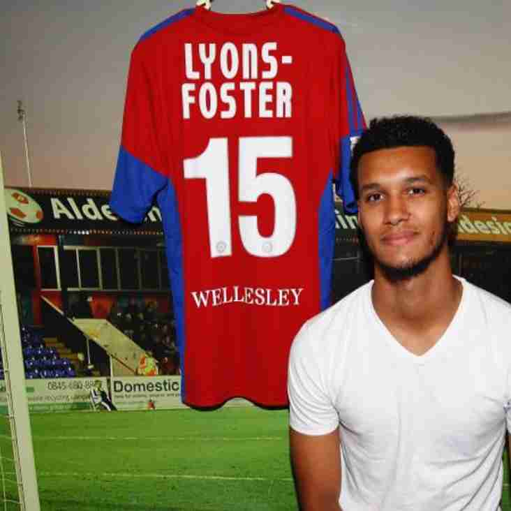 Shots Sign Lyons-Foster Following Successful Trial