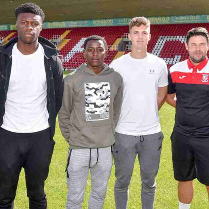 Three Academy Youngsters Handed First-Team Chance By Limbrick