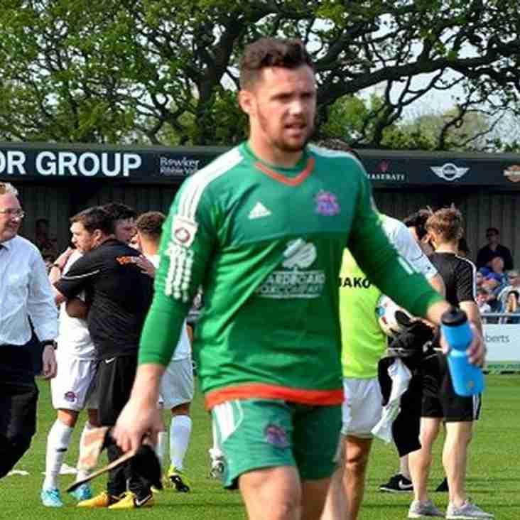 Chorley Take Cod Army Keeper For The Season