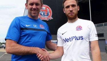 Midfielder McCready Joins Coasters After Impressing In Pre-Season