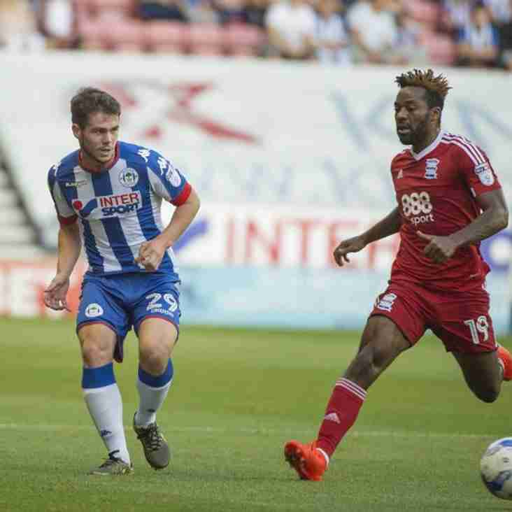 Challinor Brings In Latics Youngster Until January