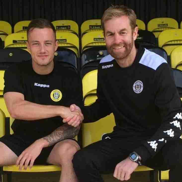 Burdett Loaned to Harrogate Until January
