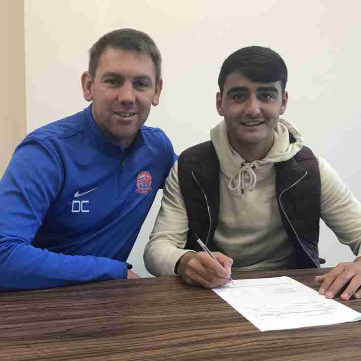 AFC Fylde Star Serhat Tasdemir Signs Pro Deal After First Goal