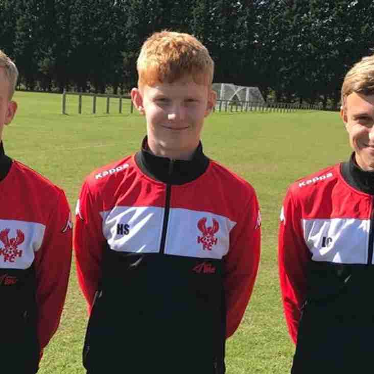 Trio Of Harriers Youngsters Earn First-Team Spurs