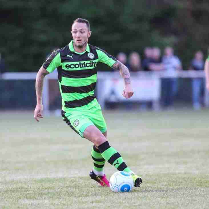 Owers Takes Forest Green Striker On Loan