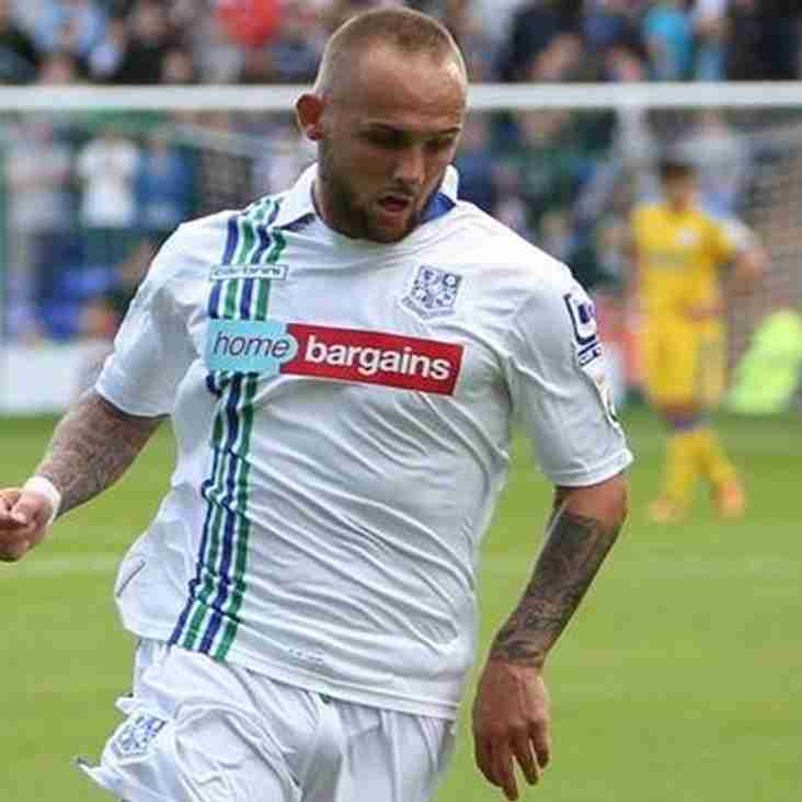 Quakers Take Tranmere Winger On Loan