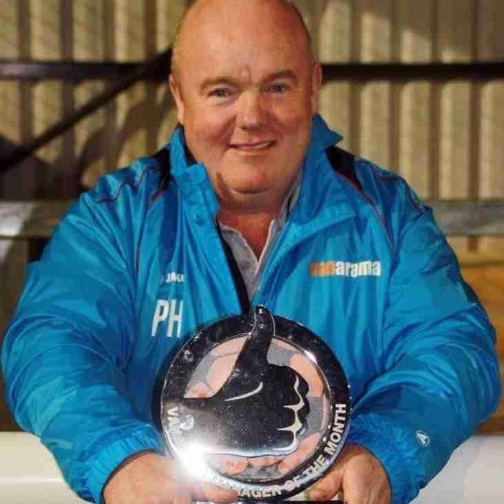 Superb October Wins Managerial Award For Holleran