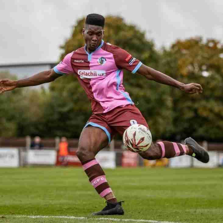 Striker Okojie Joins Stones On Loan