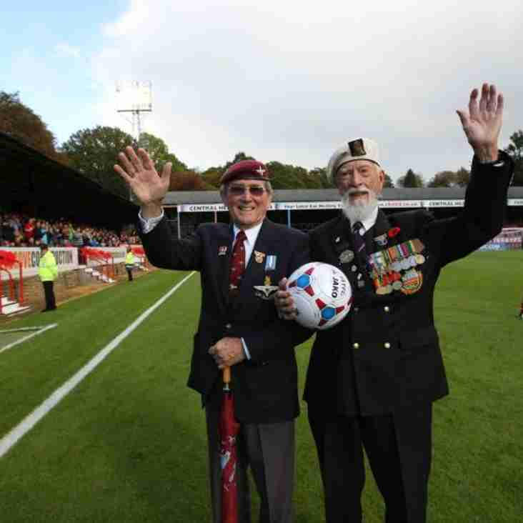 Shots Celebrate Remembrance Day This Saturday