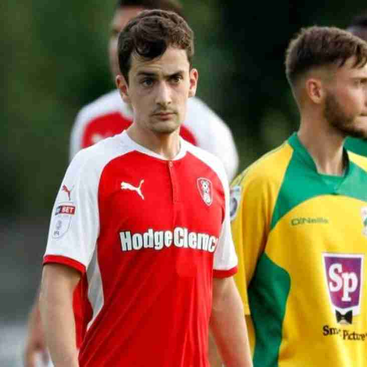 Young Midfielder Returns To North Ferriby On Loan