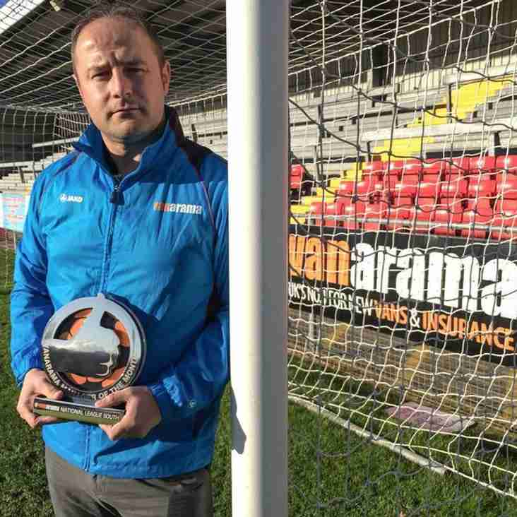 Weston`s Young Manager Rewarded For Excellent November