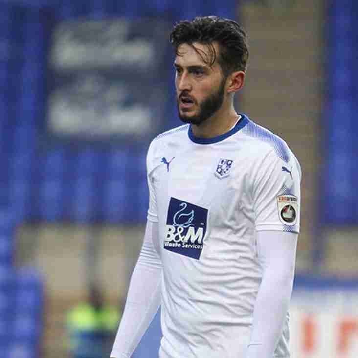 Latics Midfielder Extends His Stay At Tranmere For Another Month
