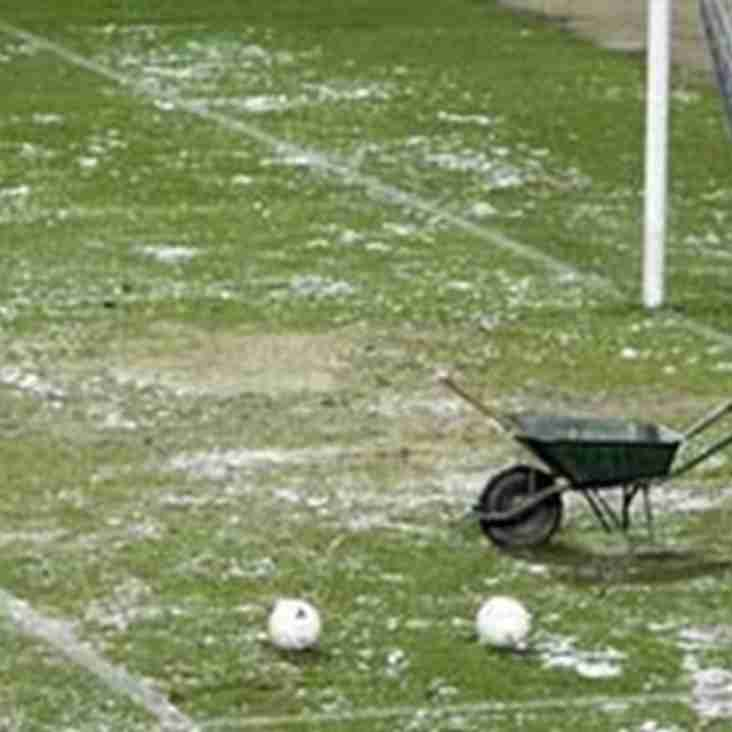 Spennymoor`s Buildbase FA Trophy Tie Frozen Off Again