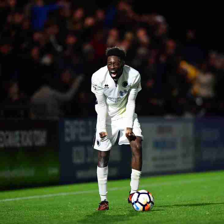 Turgott`s Back With Boreham Wood On A Permanent Basis