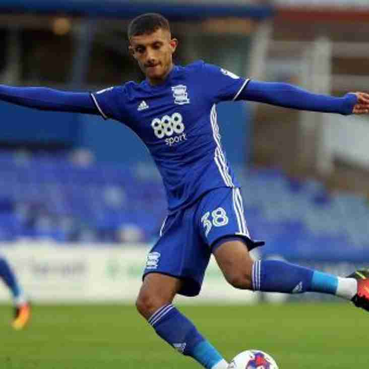 Now Solihull Bring In Blues Striker On A Month`s Loan