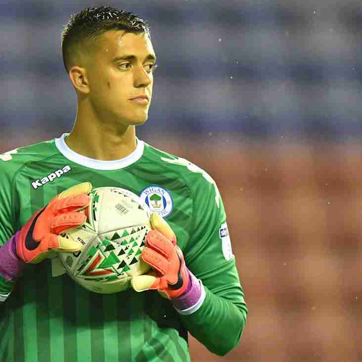 Keeper Evans Joins Wigan Team-Mate On Loan At Sutton